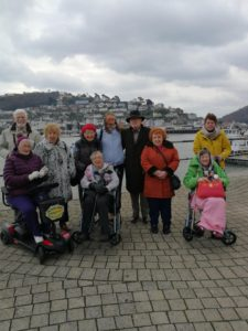 Gibraltar Nursing Home takes family members on holiday