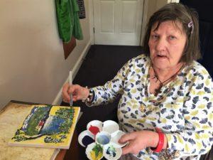 Gibraltar Nursing Home uses Art Therapy